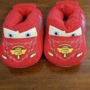 Boys Cars Slippers
